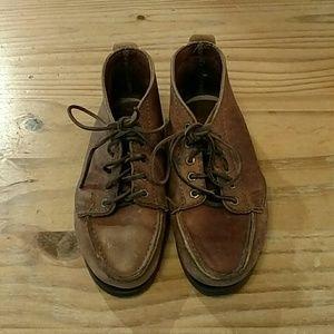 Vintage Minnetonka leather shoes, size 5